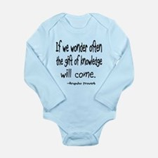 Gift of Knowledge Long Sleeve Infant Bodysuit