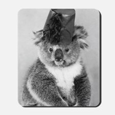 """Vintage Postcards"" Book Koala Mousepad"