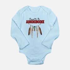 Proud to be Assiniboine Long Sleeve Infant Bodysui