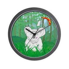 """Koalas Tail Ends in a Drought"" Wall Clock"