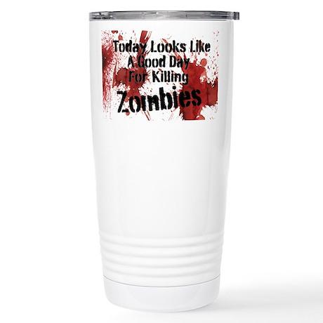 Zombie Coffee Stainless Steel Travel Mug