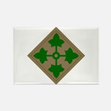 4th Infantry Division Rectangle Magnet