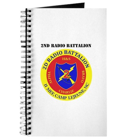 2nd Radio Battalion with Text Journal