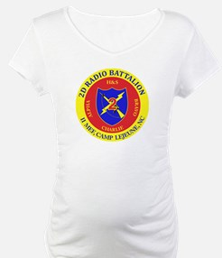 2nd Radio Battalion with Text Shirt