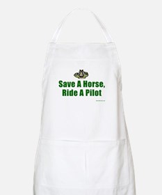 Save a Horse, Ride a Pilot BBQ Apron