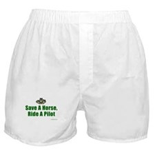 Save a Horse, Ride a Pilot Boxer Shorts