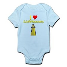 I love Lighthouses Onesie