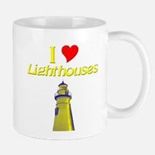 I love Lighthouses Mug