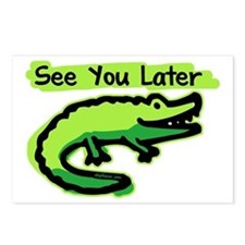 See You Later Alligator Postcards (Package of 8)
