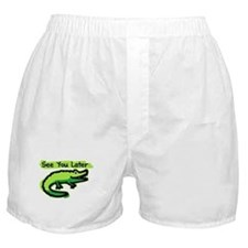See You Later Alligator Boxer Shorts