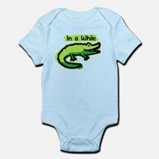 In a While Crocodile Infant Bodysuit