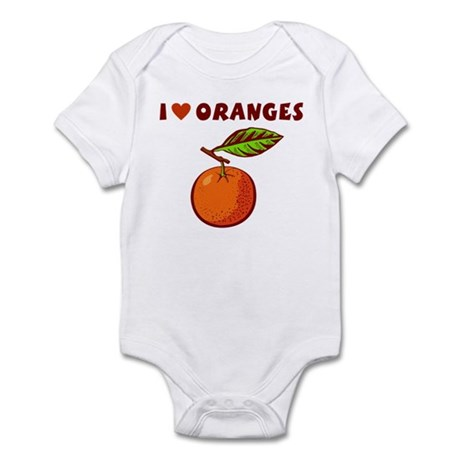 I Love Oranges Infant Bodysuit