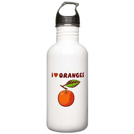 I Love Oranges Stainless Water Bottle 1.0L