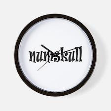 Numskull Wall Clock