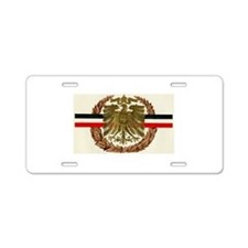 Old Germany Aluminum License Plate
