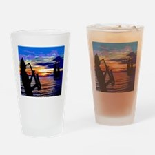 ORANGESAX Drinking Glass