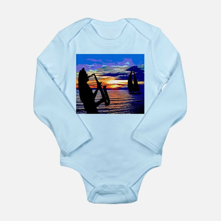 ORANGESAX Long Sleeve Infant Bodysuit