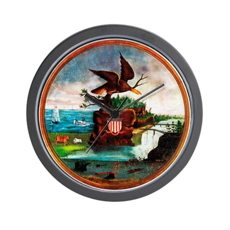 The 1840 America Wall Clock