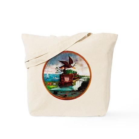 The 1840 America Tote Bag