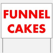 Funnel Cakes Yard Sign