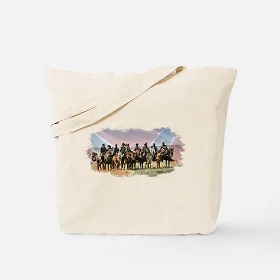 Civil War Reenactment Cavalry Tote Bag