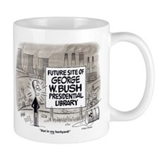 Bush Library Mug