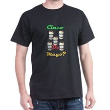 Cinco De Mayo Black T-Shirt