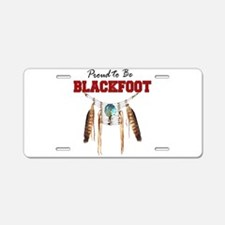 Proud to be Blackfoot Aluminum License Plate