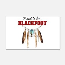 Proud to be Blackfoot Car Magnet 20 x 12