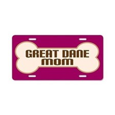 Great Dane Mom Dog Lover License Plate Gift
