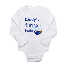 Daddy's Fishing Buddy Onesie Romper Suit