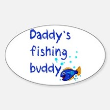 Daddy's Fishing Buddy Decal