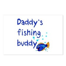 Daddy's Fishing Buddy Postcards (Package of 8)