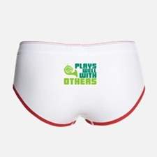French Horn Plays Well Women's Boy Brief
