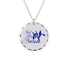 God Bless Nurses Necklace