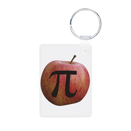 Apple Pi Aluminum Photo Keychain