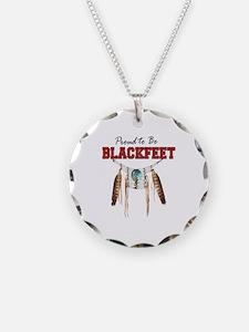 Proud to be Blackfeet Necklace