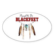 Proud to be Blackfeet Decal