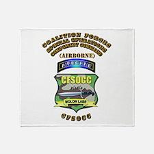 SOF - CFSOCC Throw Blanket