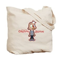 Axel McGee Cartoon Lagoon Tote Bag