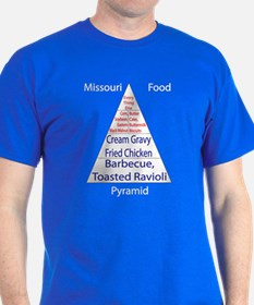 Missouri Food Pyramid T-Shirt
