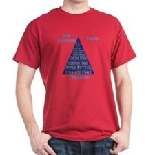 New Hampshire Food Pyramid T-Shirt