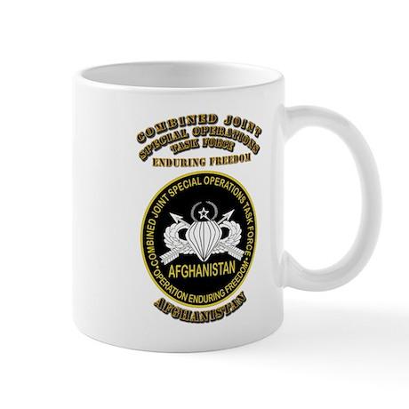 SOF - CJSOTF - Enduring Freedom Mug