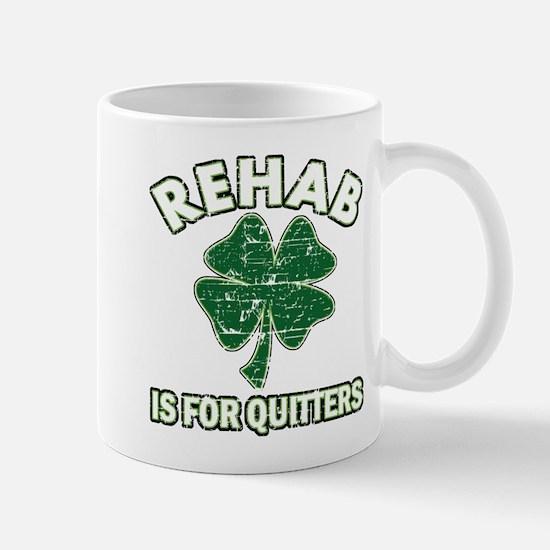 Funny Irish Clover Designs Mugs