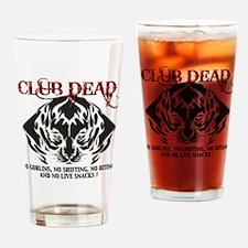 Club Dead Drinking Glass