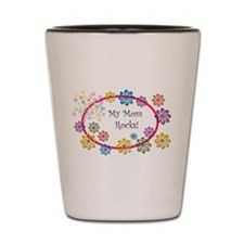 Cute Happy mother's day Shot Glass