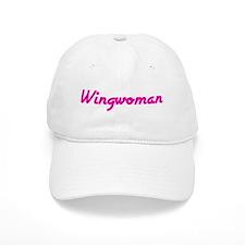 Wingwoman (Pink Logo) - Baseball Cap