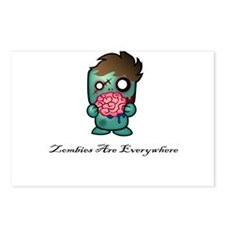 Zombies Are Everywhere! Postcards (Package of 8)