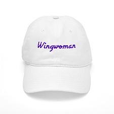 Wingwoman (Purple Logo) - Baseball Cap
