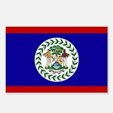 Belize Flag Postcards (Package of 8)